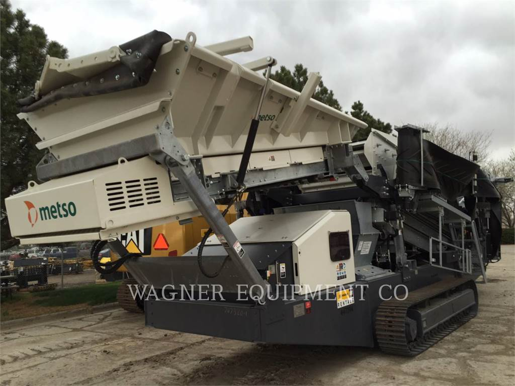 Metso ST2.8, crusher, Construction