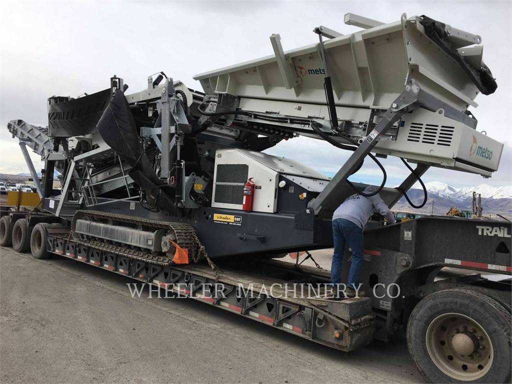 Metso ST2.8 SCRN, Mobile screeners, Construction