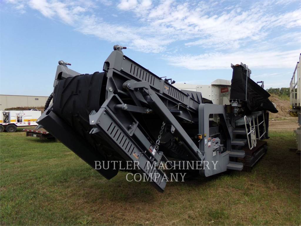 Metso ST272, Mobile screeners, Construction
