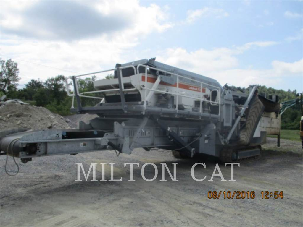 Metso ST3.5, Mobile screeners, Construction