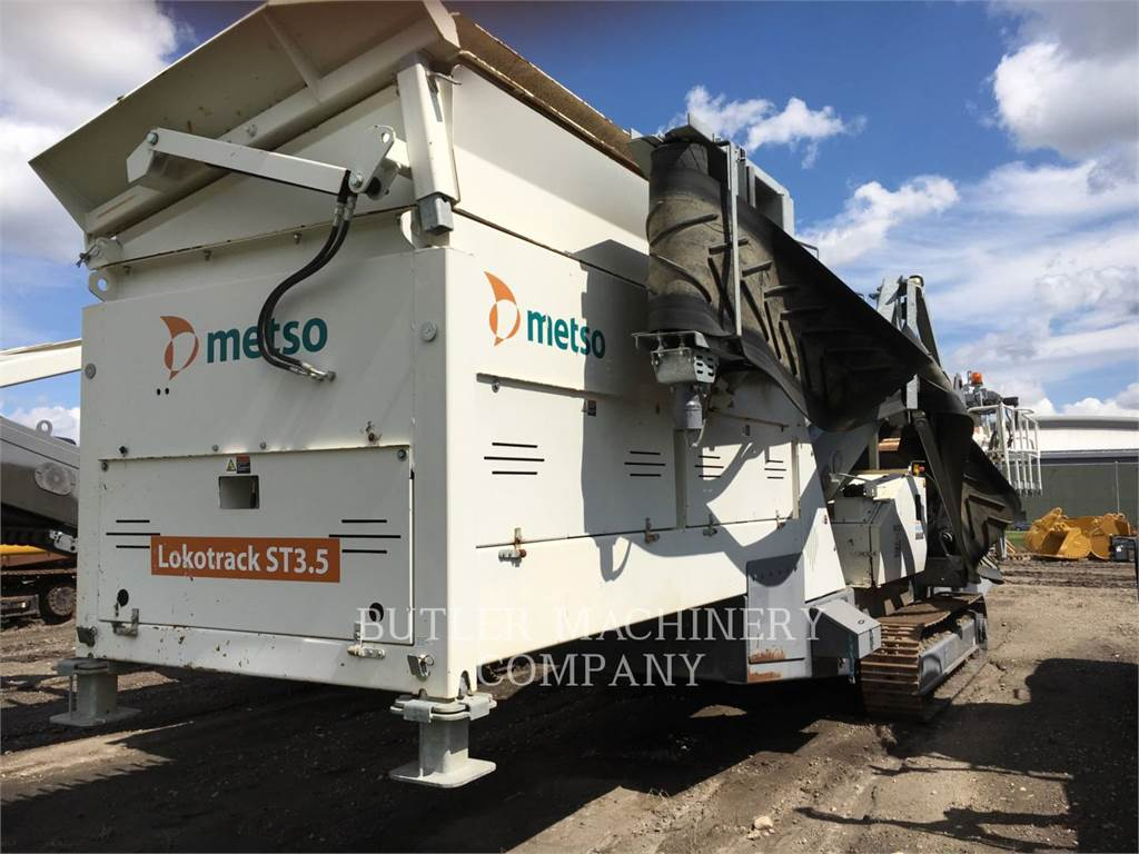 Metso ST3.5LOKOT, Mobile screeners, Construction