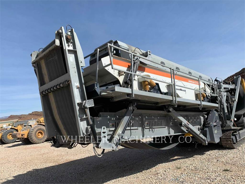 Metso ST3.8, Mobile screeners, Construction