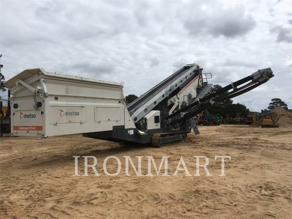 Metso ST4.8, Mobile screeners, Construction