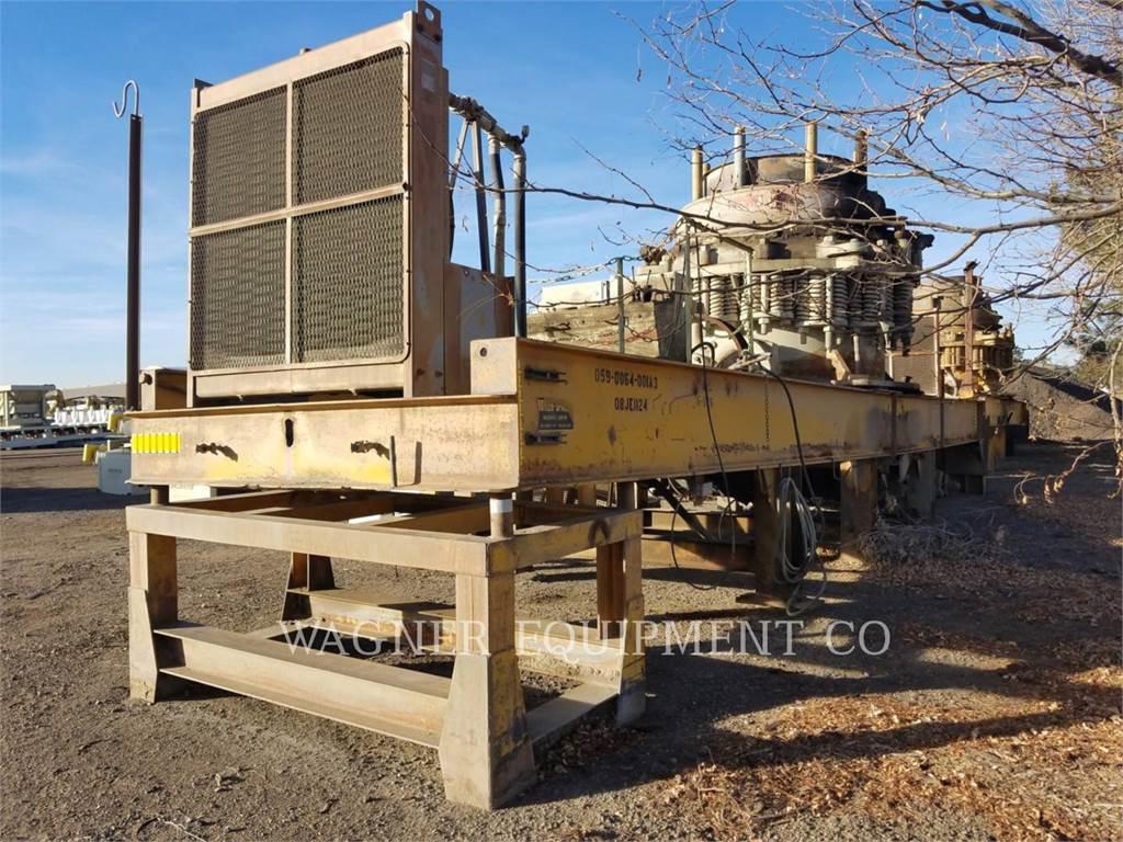 Metso SYMONS, trituradoras, Construcción