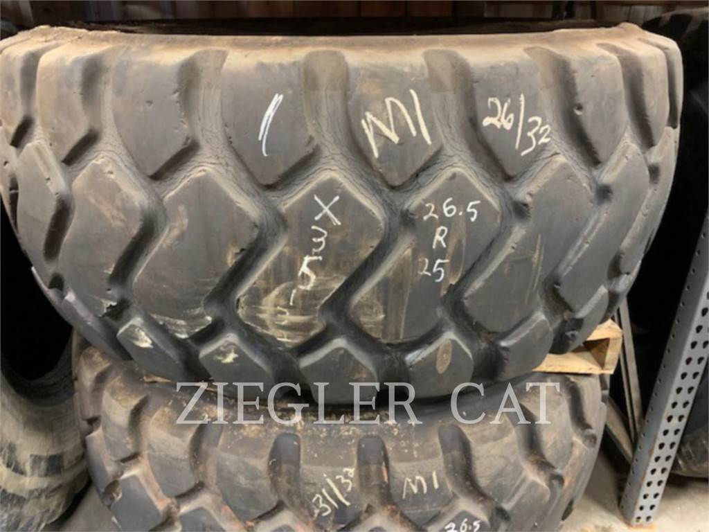 Michelin 26.5R25 TIRES, tires, Construction