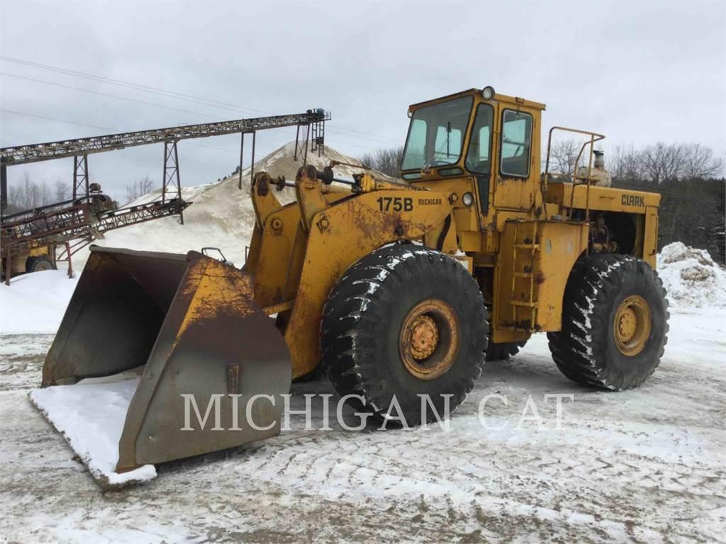 Michigan 175B-C, Wheel Loaders, Construction