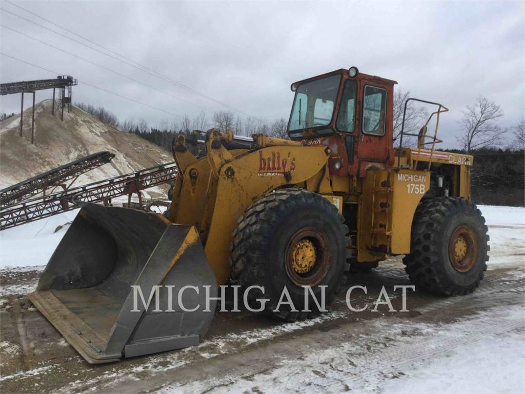 Michigan 175B-GM, Wheel Loaders, Construction