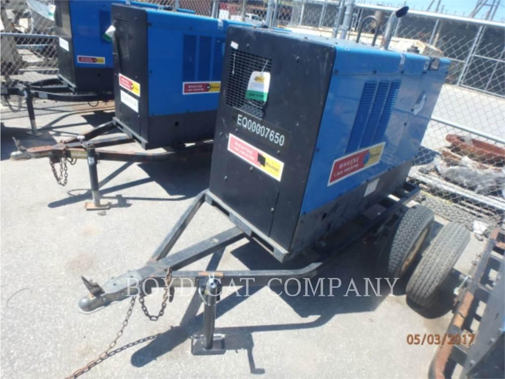 Miller BIG BLUE 500, welders, Construction