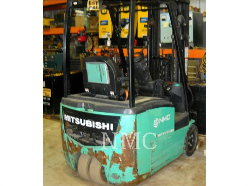 Mitsubishi FB16PNT_MT, Wózki elektryczne, Magazynowanie