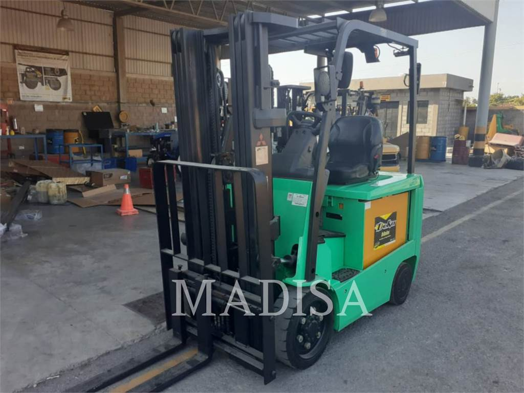 Mitsubishi FBC25N2, Electric Forklifts, Material Handling