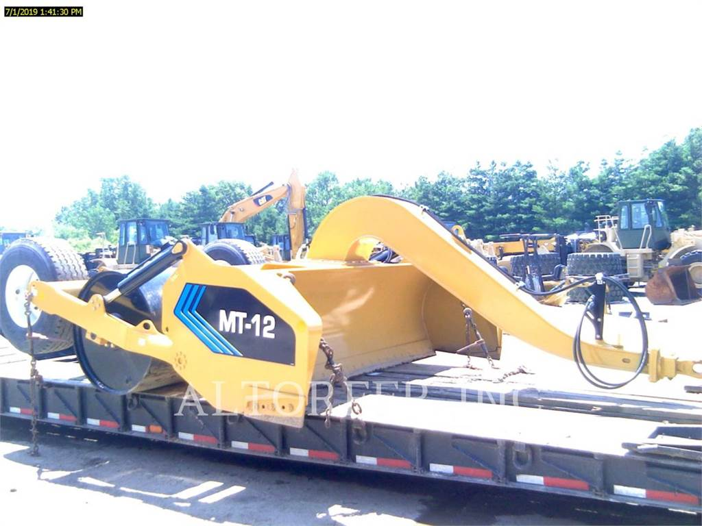 Mobile Track Solutions MT12, towed compactors, Construction