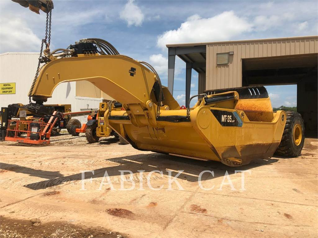Mobile Track Solutions MT35LGP, Raspadores, Equipamentos Construção