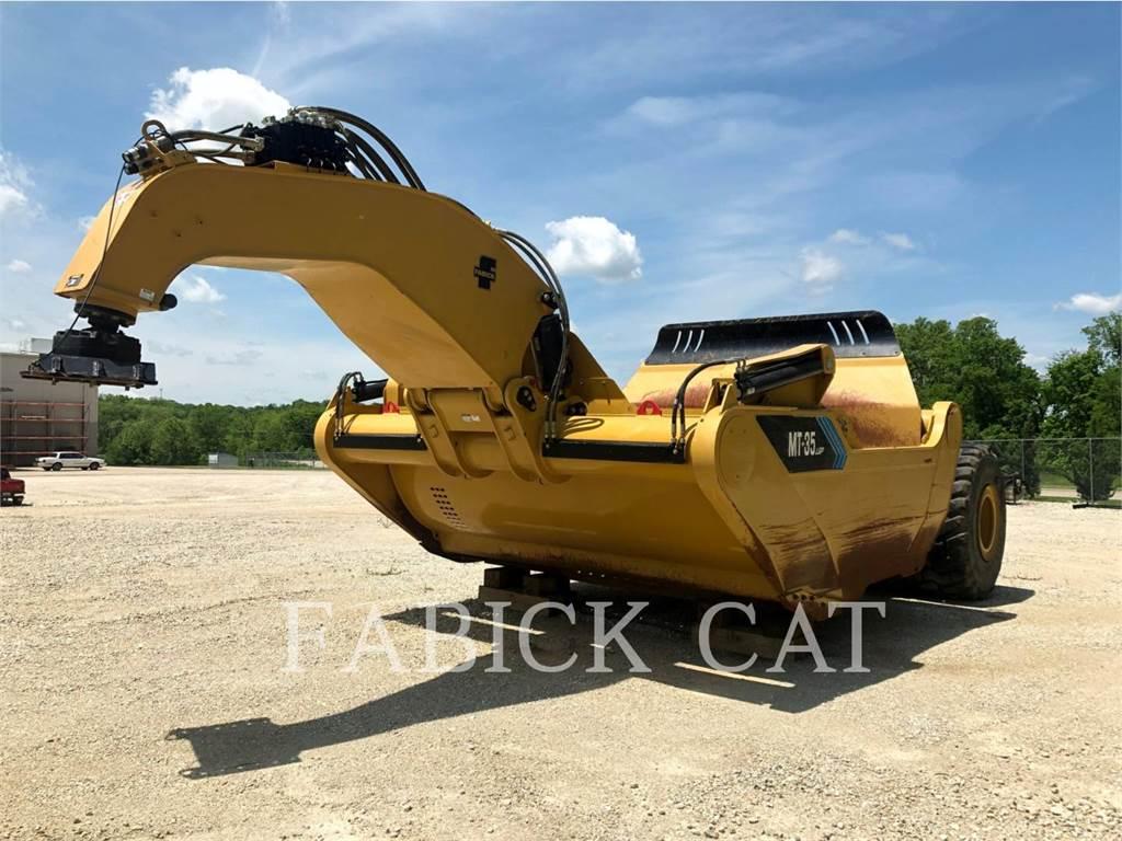 Mobile Track Solutions MT35LGP、铲运机、建筑设备
