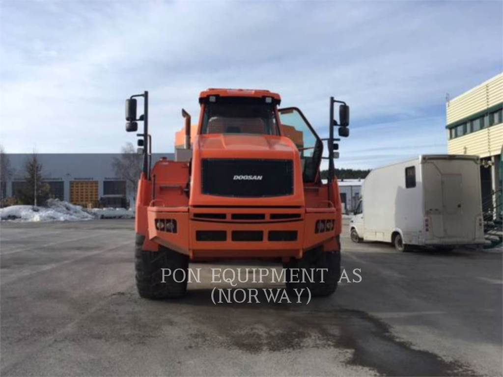 Moxy DA40, Articulated Dump Trucks (ADTs), Construction