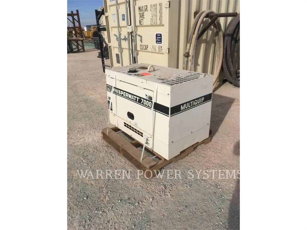 MultiQuip DA-7000SSA, Seturi de Generatoare Diesel, Constructii
