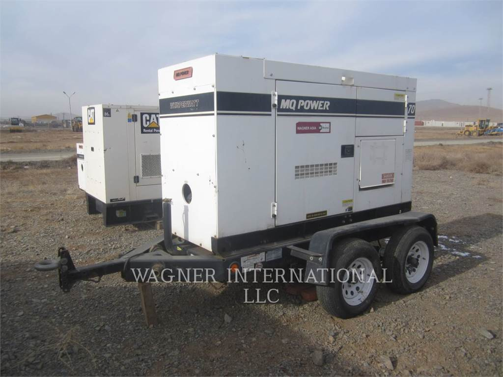 MultiQuip DCA-70SSIU, Stationary Generator Sets, Construction