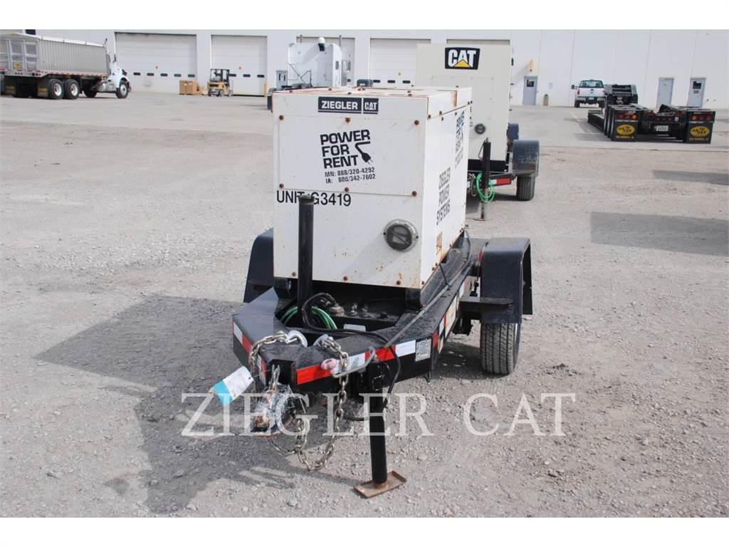 MultiQuip DCA010, Stationary Generator Sets, Construction