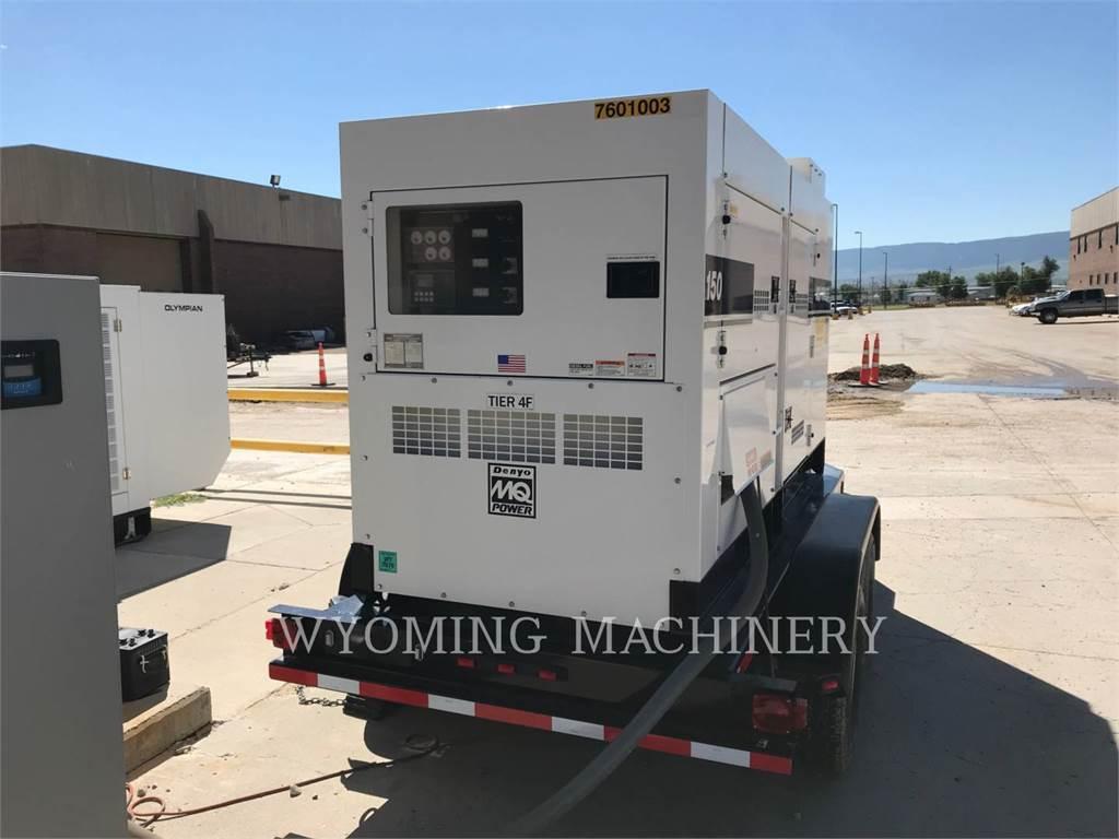 MultiQuip DCA150SS, Stationary Generator Sets, Construction