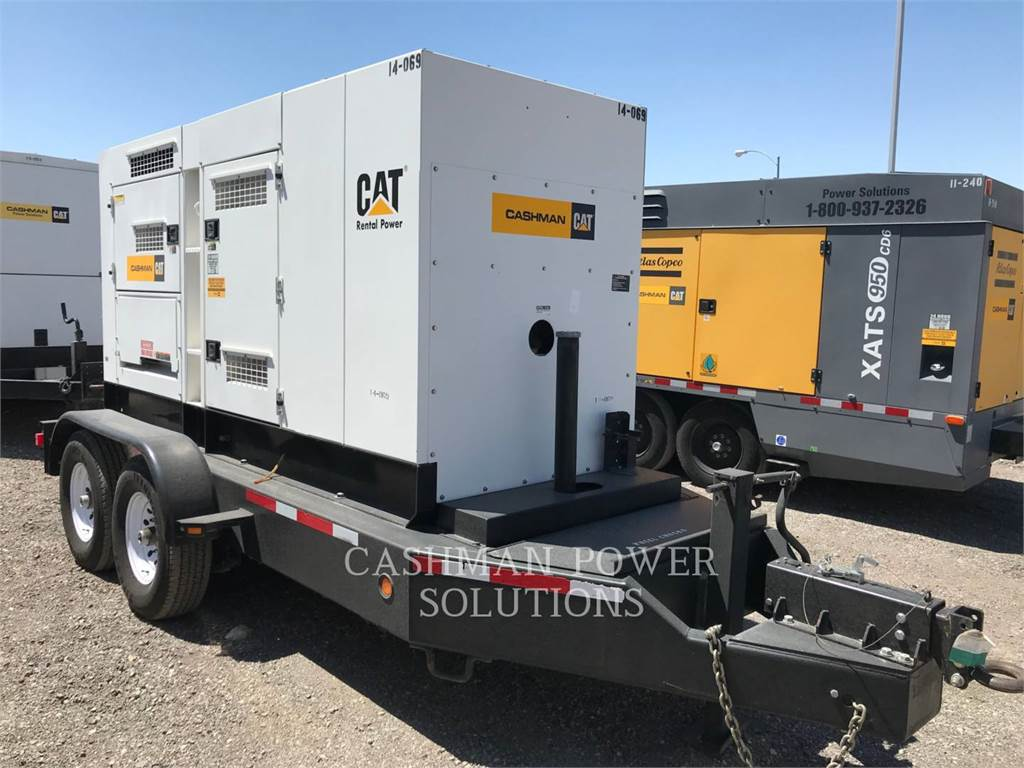 MultiQuip DCA220, mobile generator sets, Construction