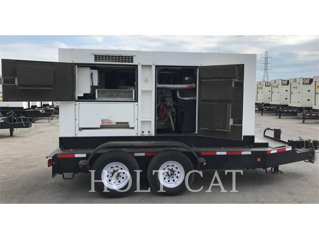 MultiQuip DCA220SSCU, mobile generator sets, Construction