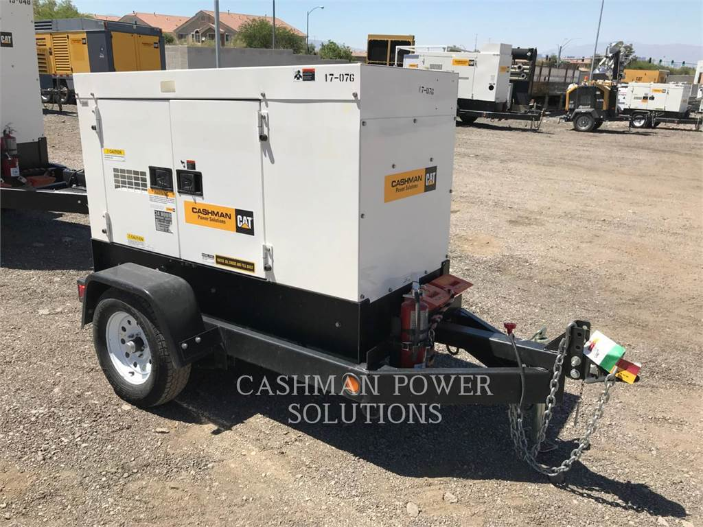 MultiQuip DCA25, mobile generator sets, Construction