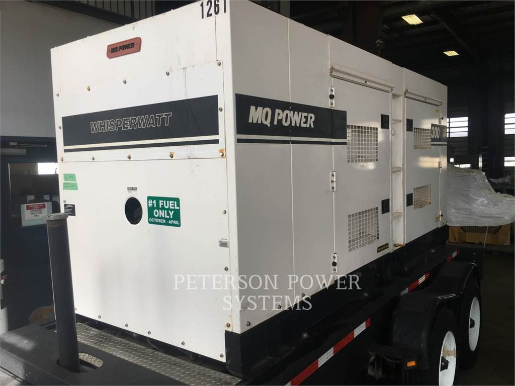 MultiQuip DCA300, Stationary Generator Sets, Construction