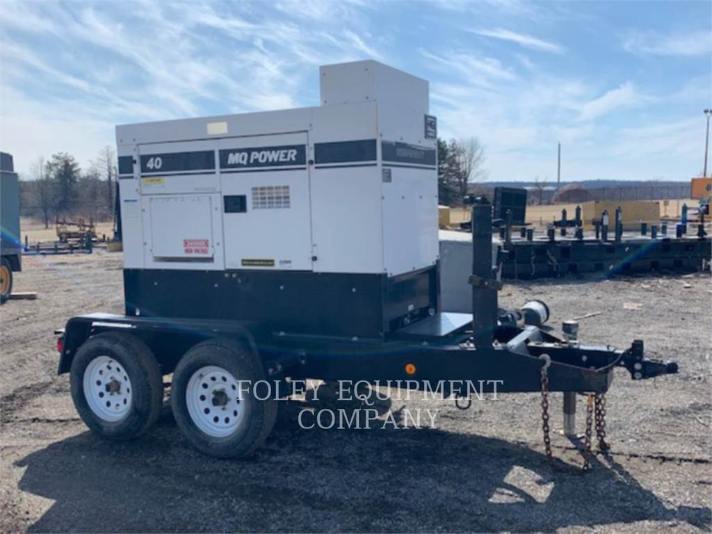 MultiQuip DCA40, mobile generator sets, Construction