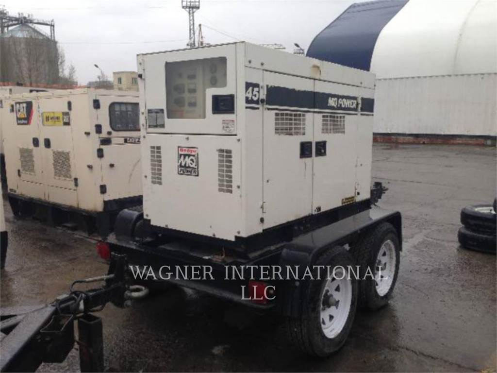 MultiQuip DCA45, Stationary Generator Sets, Construction