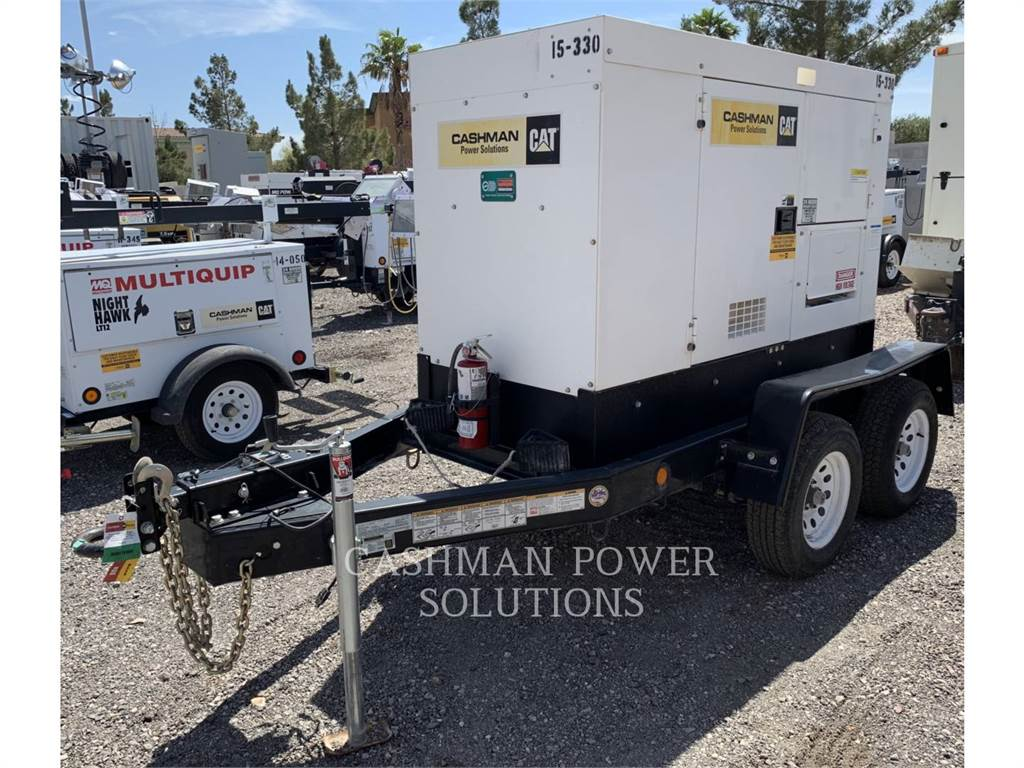 MultiQuip DCA45, mobile generator sets, Construction