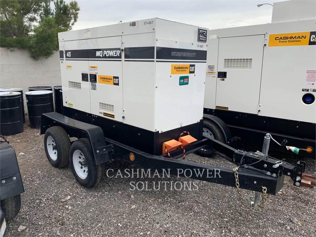 MultiQuip DCA45, transportable stromaggregate, Bau-Und Bergbauausrüstung
