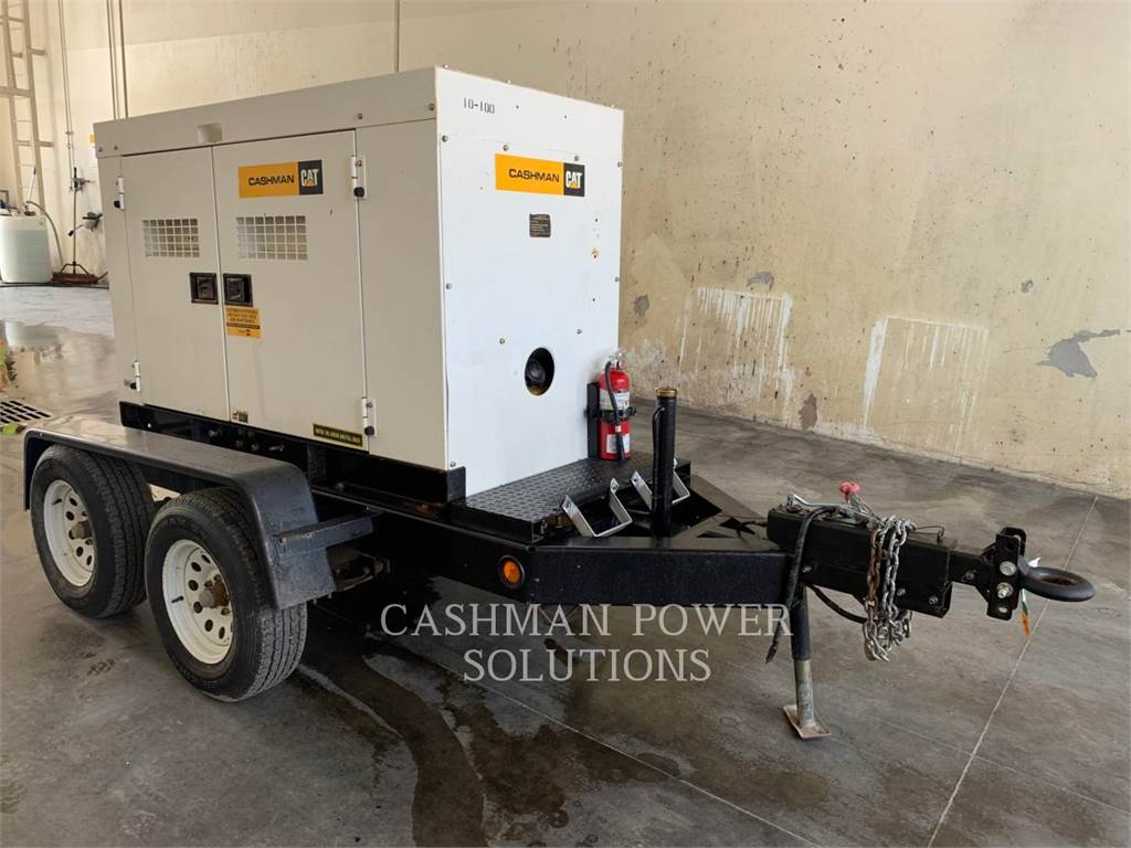 MultiQuip DCA45SSIU, mobile generator sets, Construction