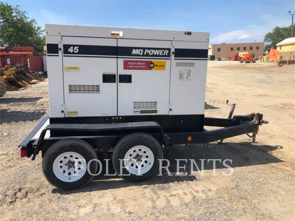 MultiQuip DCA45SSIU4, mobile generator sets, Construction