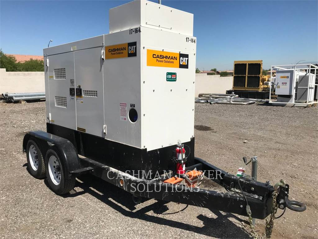 MultiQuip DCA70, mobile generator sets, Construction