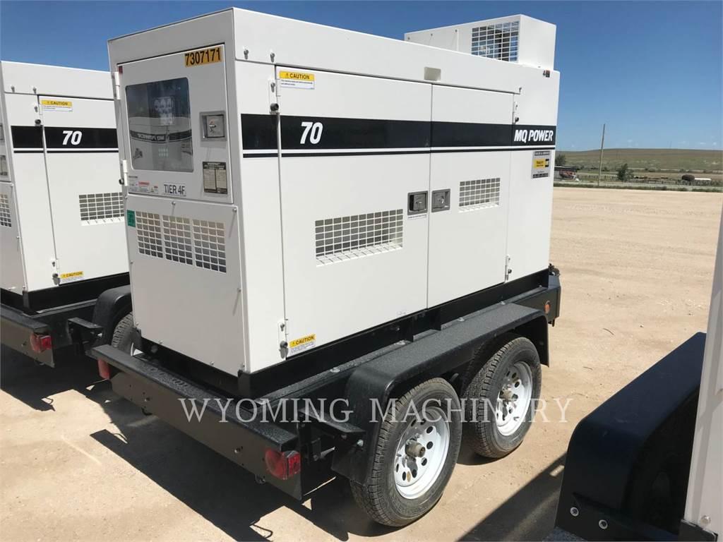 MultiQuip DCA70SS, Stationary Generator Sets, Construction