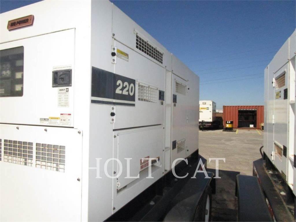 MultiQuip DCQ220SSCU, mobiele generatorsets, Bouw