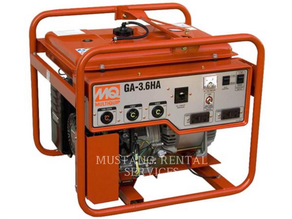 MultiQuip GA36HB, Petroleum Engines, Construction
