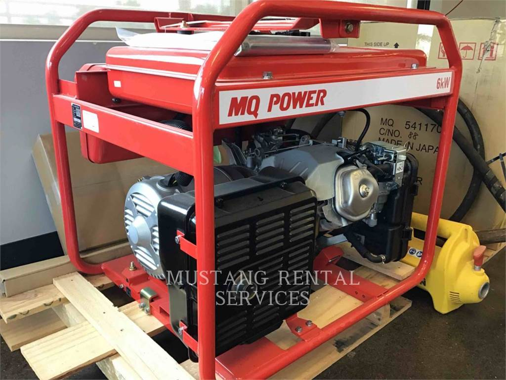 MultiQuip GA6HR, Stationary Generator Sets, Construction