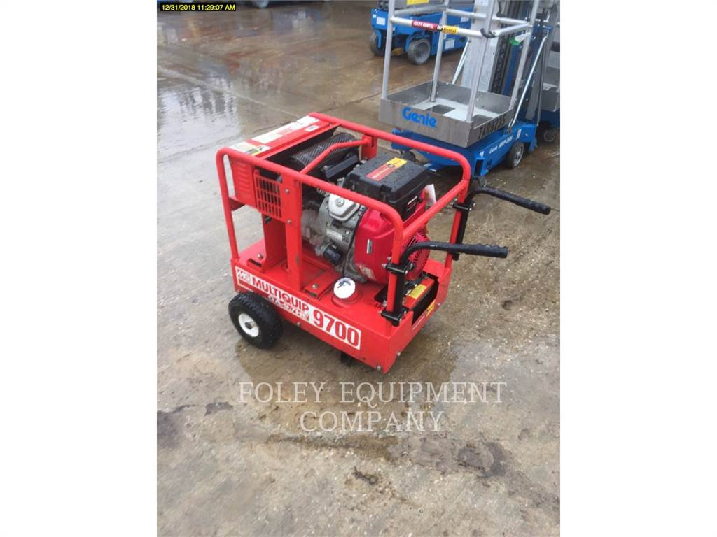 MultiQuip GA97HEA, Stationary Generator Sets, Construction