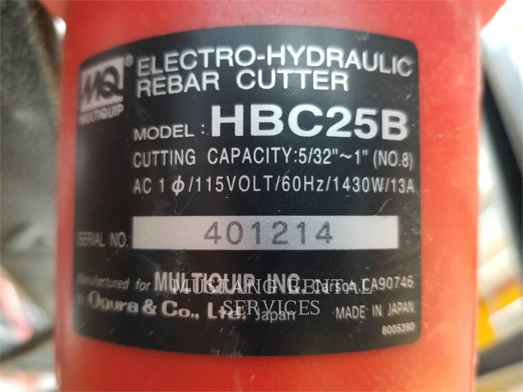 MultiQuip HBC25B, concrete equipment, Construction