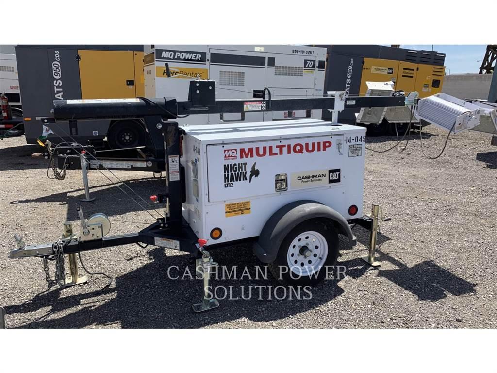 MultiQuip LIGHT TWR, kolumna oświetlenia, Sprzęt budowlany