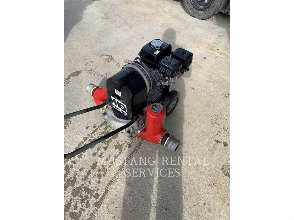 MultiQuip MQD3H, Water Pumps, Construction