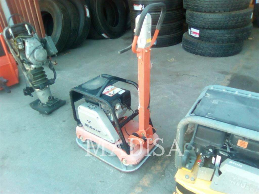 MultiQuip MVH150VGH, vibratory plate compactor, Construction