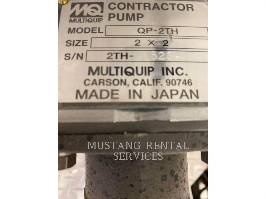 MultiQuip QP2TH, Water Pumps, Construction