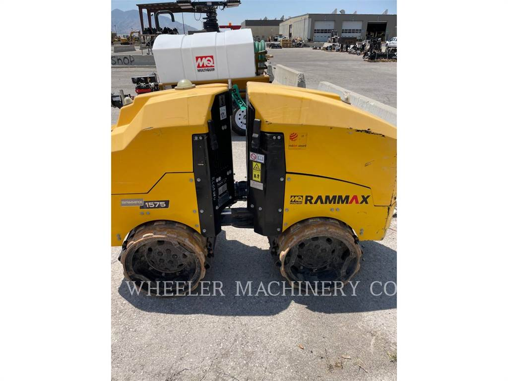 MultiQuip RX1575, combination rollers, Construction