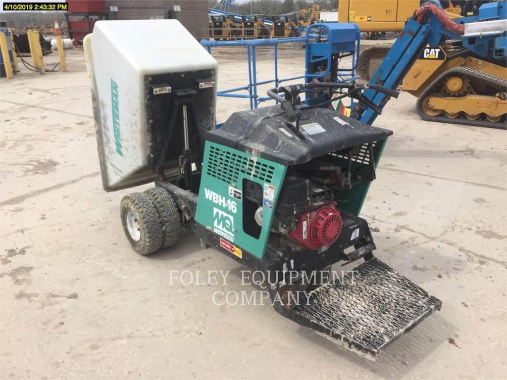 MultiQuip WBH-16F, concrete equipment, Construction
