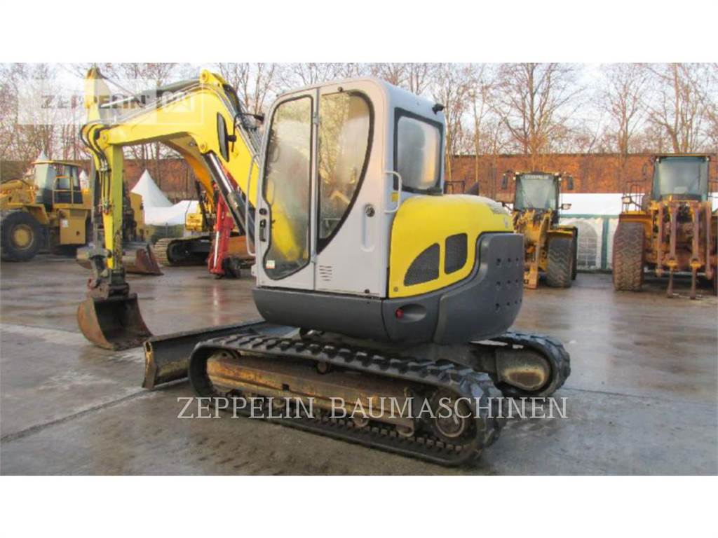 Neuson 75Z3, Crawler Excavators, Construction
