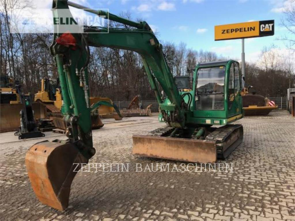 Neuson 8002, Crawler Excavators, Construction