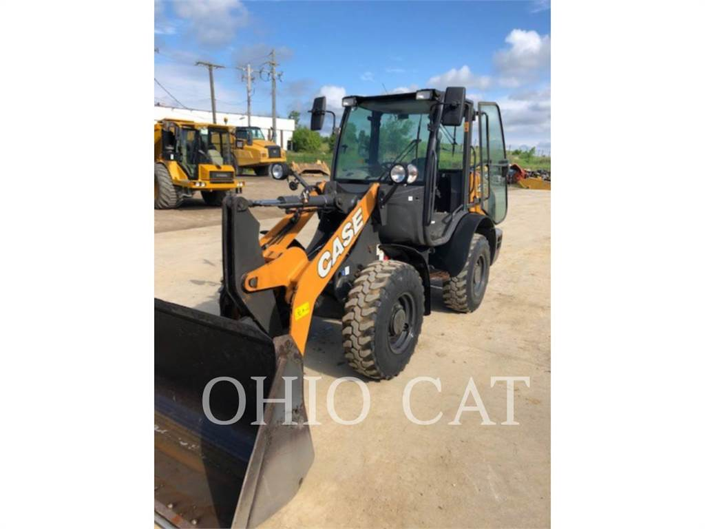 New Holland 21F, Wheel Loaders, Construction