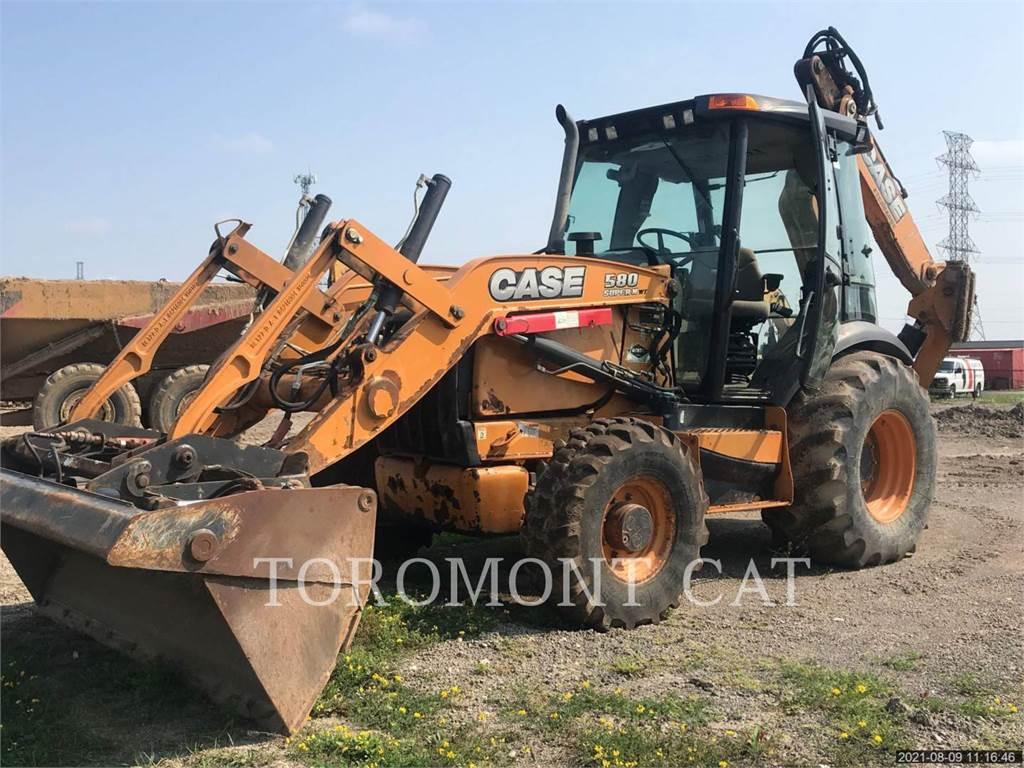 New Holland 580, backhoe loader, Construction