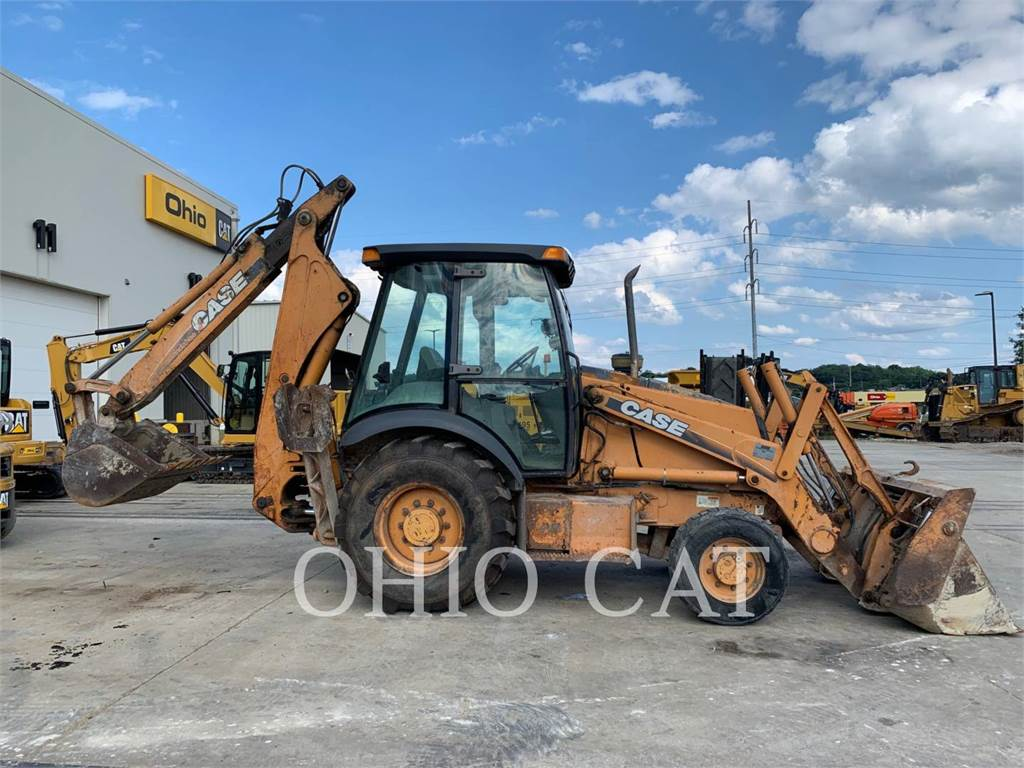 New Holland 580M, backhoe loader, Construction